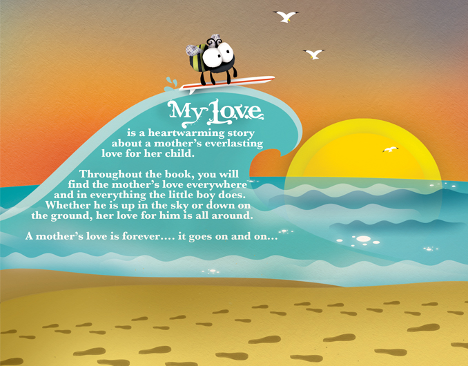 MY LOVE BACK COVER